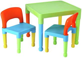 Liberty house Toys Multicoloured Plastic Table & Chairs