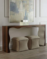 John-Richard Collection Sasha Scalloped Console