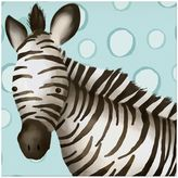 Oopsy Daisy Fine Art For Kids Timmy the Zebra Canvas Wall Art