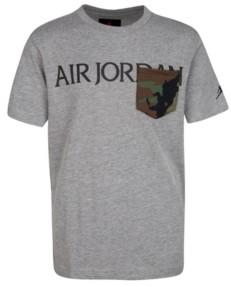 Jordan Big Boys Jumpman Classics Logo Pocket T-shirt