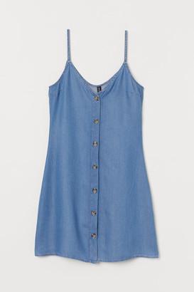 H&M Lyocell Dress - Blue