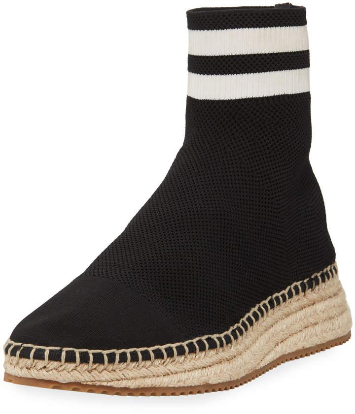 Alexander Wang Dylan Knit Sock Espadrille Boot