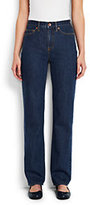 Classic Women's High Rise Straight Leg Jeans-Medium Indigo