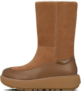 FitFlop Elin Suede Calf-Length Boots