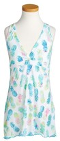 Pilyq Girl's Little Parker Print Cover-Up Dress
