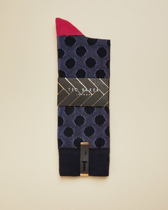Ted Baker Spot Design Socks