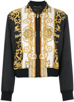 Versace Medusa printed bomber jacket - women - Silk/Acrylic/Polyamide/Viscose - 40