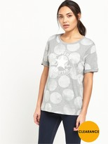 Converse BIG DOT EASY CREW T SHIRT
