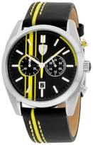 Ferrari 0830235 Stainless Steel / Leather 44mm Mens Watch