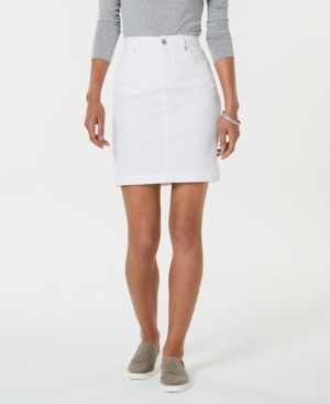 Style&Co. Style & Co Cotton Denim Skirt, Created for Macy's