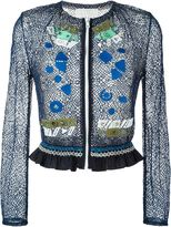 Peter Pilotto 'Solar' embroidered jacket - women - Polyamide/Viscose - 8