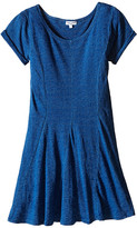 Splendid Littles Indigo Fit Flare Dress (Big Kids)