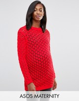 Asos Sweater in Mesh Stitch