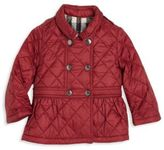 Burberry Baby's & Toddler Girl's Mini Portree Quilted Jacket