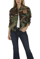 AS65 Camo Embroidered Bomber Jacket