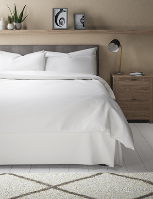 Marks and Spencer Egyptian Cotton 400 Thread Count Sateen Valance Sheet