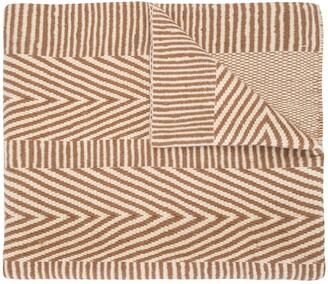 Voz Striped Chevron Shawl Scarf