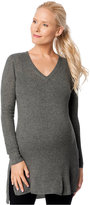 A Pea in the Pod Maternity Ribbed Tunic Sweater