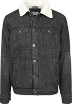 Urban Classics Men's Sherpa Denim Jacket