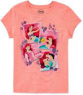 Disney Short-Sleeve Ariel Photo Graphic Tee - Girls