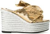 No.21 platform sandals
