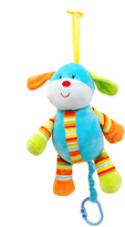 Colorful Puppy Pull-String Toy