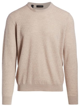 Saks Fifth Avenue COLLECTION Lightweight Cable Knit Sweater