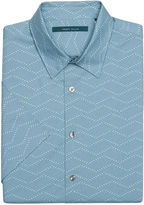 Perry Ellis Short Sleeve Exploded Wave Shirt