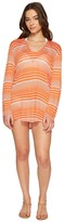 Splendid Sun-Sational Solids Hoodie Tunic Cover-Up Women's Swimwear