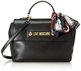 Love Moschino Borsa Small Grain Pu, Women's Top-Handle Bag,20x31x11 cm (W x H L)