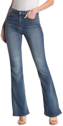 7 For All Mankind Ali High Waist Flare Leg Jeans