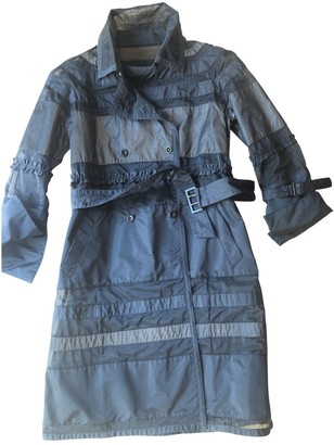 Ermanno Scervino Black Trench Coat for Women