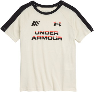 Under Armour HeatGear Moto Wordmark Graphic Tee