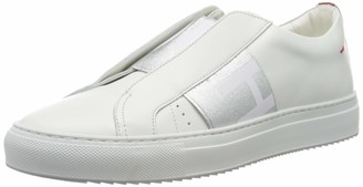 HUGO BOSS Women's Futurism Low Cut-bi Sneaker
