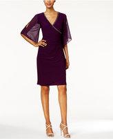 MSK Embellished Illusion Sheath Dress