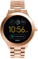 Fossil Q Venture Rose Gold-Tone Smart