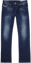 Diesel Waykee 0679i Blue Straight-leg Jeans
