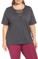 Nike Plus Size Women's Zonal Cooling Relay Tee