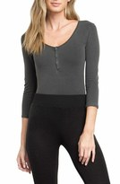 RVCA Women's Pretender Henley Bodysuit