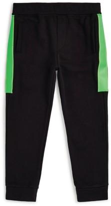 Emporio Armani Kids Colour-Block Sweatpants