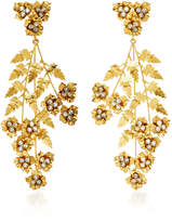 Jennifer Behr Aveline Gold-Plated Swarovski Crystal Earrings