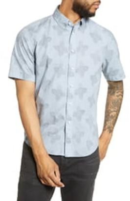 Rag & Bone Smith Short Sleeve Slim Fit Shirt