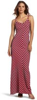 Allen Allen Women's Long V-Neck Tank Dress