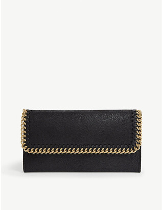 Stella McCartney Falabella faux-leather continental wallet