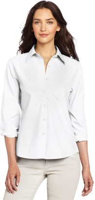 Foxcroft Women's Diane Solid Shirt