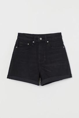 H&M Mom Shorts High Waist