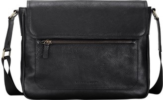 Maxwell Scott Bags Black Finest Quality Mens Soft Leather Satchel Bag For Laptop