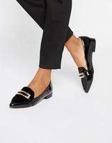 Carvela Metal Trim Slipper Flat Shoes