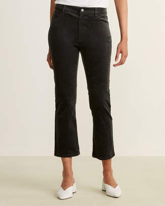 Eileen Fisher Bark Cropped Corduroy Jeans