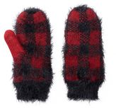 Mudd Women's Buffalo Check Mittens